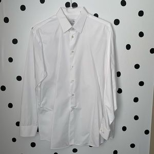 🔥30%OFF🔥Calvin Klein white button down